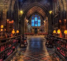 St Asaph Cathedral by Ian Mitchell