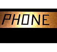 Phone Photographic Print