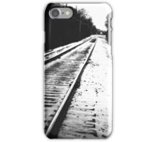 My Side of the Tracks iPhone Case/Skin