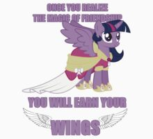 Twilight Sparkle - Earn Your Wings by Andaimaru