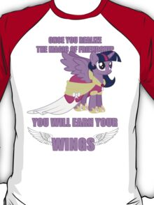 Twilight Sparkle - Earn Your Wings T-Shirt