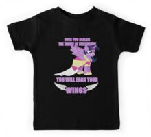 Twilight Sparkle - Earn Your Wings Kids Tee