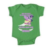 Twilight Sparkle - Earn Your Wings One Piece - Short Sleeve
