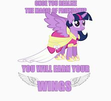 Twilight Sparkle - Earn Your Wings Unisex T-Shirt