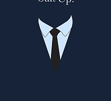 Suit UP - navy by MCellucci