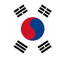 South Korea Flag by pjwuebker