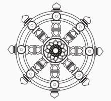 Dharmachakra by cadellin