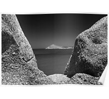 The Bluff As Seen From Granite Island Victor Harbor. Poster