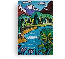Fantasy Landscape Canvas Print