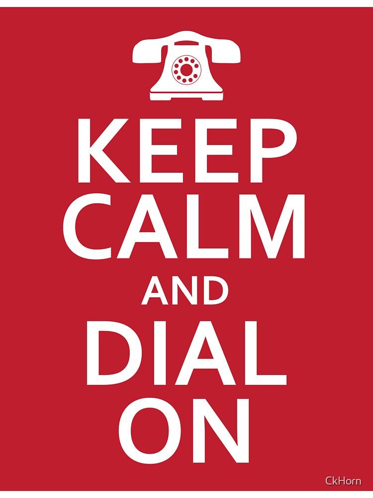 Keep Calm Red by CkHorn