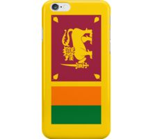 Sri Lanka Flag iPhone Case/Skin