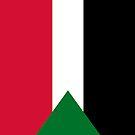 Sudan Flag by pjwuebker