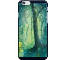 Night glows through the woods iPhone Case/Skin