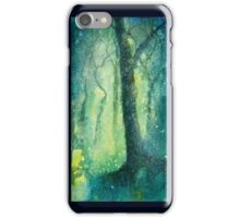 Night glows through the woods iPhone Case/Skin