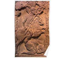 Roman Cavalry Flag Bearer Poster