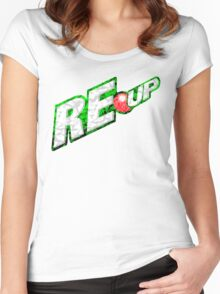 RE-UP 2 Women's Fitted Scoop T-Shirt