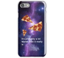 pizza thoughts iPhone Case/Skin