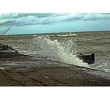 wave breaking Photographic Print