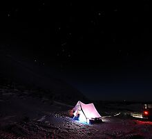 Camping Under Orion by zircon215