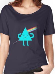Dark Side Of The Finger Women's Relaxed Fit T-Shirt