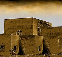 Adobe in Sepia by Peacepuppy
