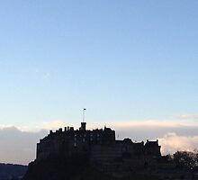 Edinburgh Castle.  by LBMcNicoll
