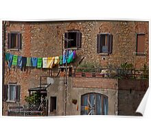 Sunny Day, Volterra Poster