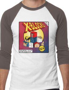X-Blocks Box Men's Baseball ¾ T-Shirt