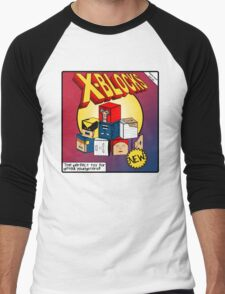 X-Blocks Box Men's Baseball ¾ T-Shirt