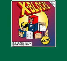 X-Blocks Box Womens Fitted T-Shirt