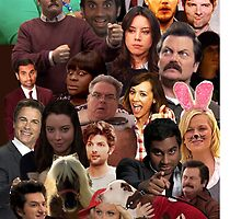 Parks and Recreation Collage by ICE COLD
