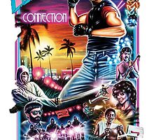 Miami Connection Poster Shirt by augoosto