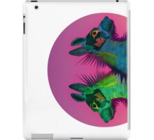 Two dogs iPad Case/Skin