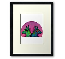 Two dogs Framed Print
