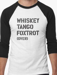 WTF (over) Men's Baseball ¾ T-Shirt