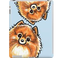Red Pomeranian Paws Up iPad Case/Skin