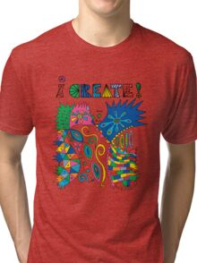 i Create On Track Tri-blend T-Shirt