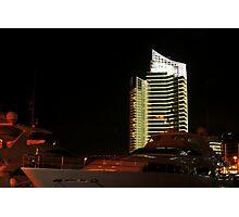 Night shot 03 - Beirut - Zaytouni Bay Photographic Print