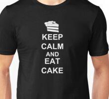 KEEP CALM AND EAT CAKE Unisex T-Shirt