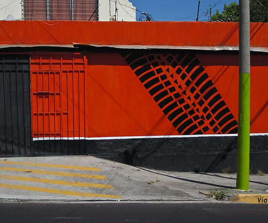 San Salvador streetscape by David Chesluk