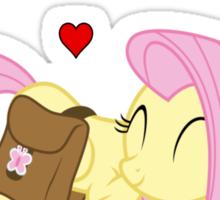 Fluttershy - Best Friends Ever Sticker