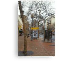 A Street In San Francisco Canvas Print