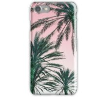 Florida palms iPhone Case/Skin