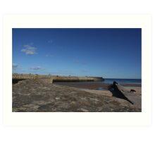 St Andrews Harbour - Pier Walk, Fife Art Print