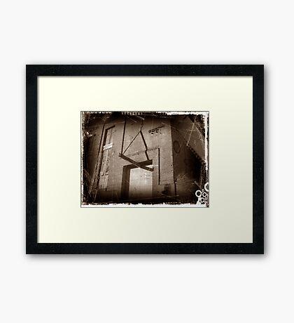 antique, Framed Print