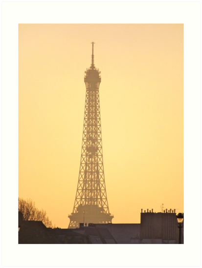 Eiffel Tower sunset, Paris. France by graceloves