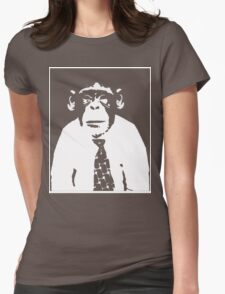 Chimp office Womens Fitted T-Shirt