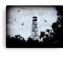 Ranger's Tower Canvas Print