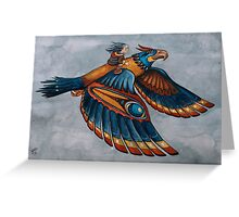 Thunderbird Shirt Greeting Card