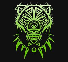 Fierce Tribal Bear T-Shirt Design (Green) Unisex T-Shirt